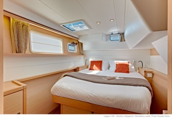 Sailing catamaran Evi - The cabins