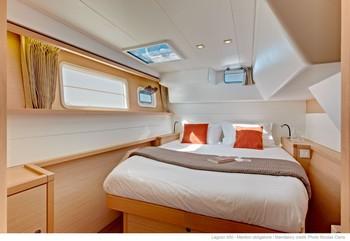 Sailing catamaran Evi - The cabins