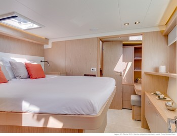 Sailing catamaran Nicolas - The cabins