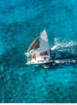 Sailing catamaran Nicolas - Under sail