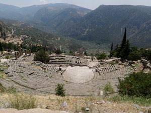 Ancient Delphi - Temple of Apollo