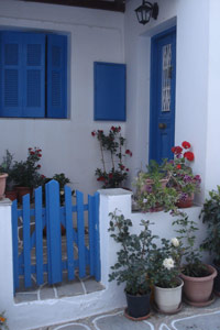 Cyclades - A typical house