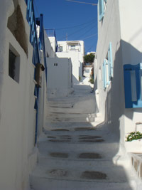 Cyclades - The little alleys