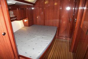 Sailing yacht Mythos II - cabin