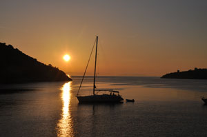 Our holidays - sunset