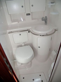 Yacht Velos - toilet 1