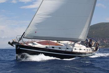 Yacht Velos - sailing