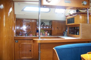 Yacht Alexandros - galley 1