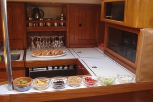 Yacht Alexandros - galley 2