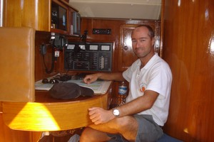 Yacht Alexandros - chart table