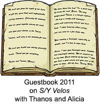 Guestbook Velos 2011
