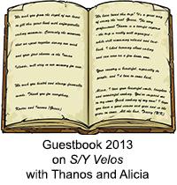 Guestbook Velos 2013