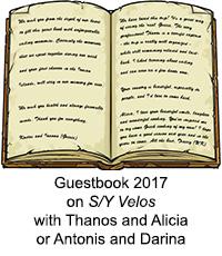 Guestbook Velos 2017