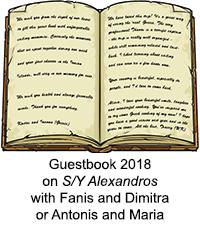 Guestbook Alexandros 2017