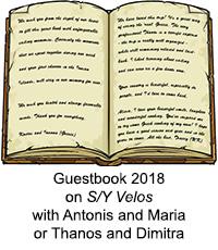 Guestbook Velos 2018