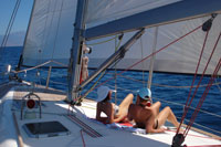 A typical day - sailing
