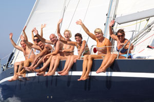 Our holidays - sailing