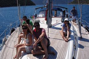 Share a yacht - sailing