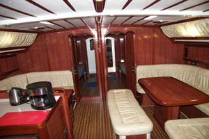 Yacht Velos - salon