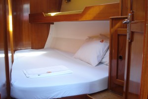 Yacht Alexandros - front cabins